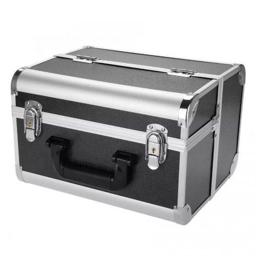 Uitklapbare grime of make-up koffer