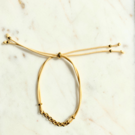 Armband A touch of gold - set