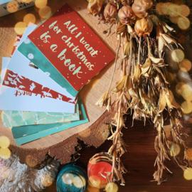 Set Bookish photo cards + Winter Edition