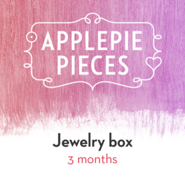 Applepiepieces Jewelry box - 3 months