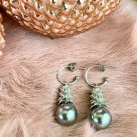 Jingle all the way oorbellen - silver