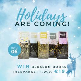 Day 6: Win een theepakket van Blossom Books