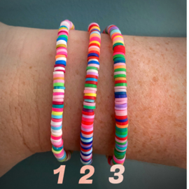 Color Explosion - set 3 armbanden