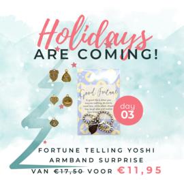 Day 3: Fortune telling Yoshi armband surprise van € 17,50 voor € 11,95