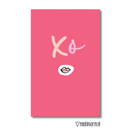 MIEKinvorm minikaart - XO