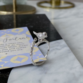 Wish birdie silver - ring
