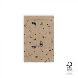 HOP Cadeauzakjes Craft - Nature - 12 x 19 cm
