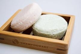 Bamboe zeepbakje Shampoo Bars