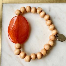 Blessing 2.0  armband - orange