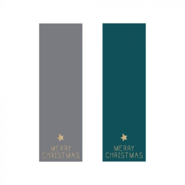 HOP Stickers Duo - Label Grey / Petrol - Gold