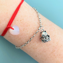 Fortune cat arm candy