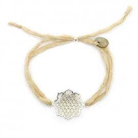 Flower of life mandala armband