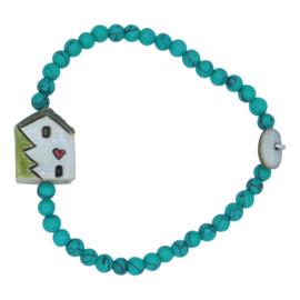 Sweet Homie Christmas armband - heart