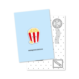 Magneetkaart -corngratulations