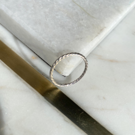 Silver luck ring 5.0