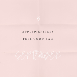 Applepiepieces feel good  bag