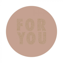 HOP Stickers - For You - Pink