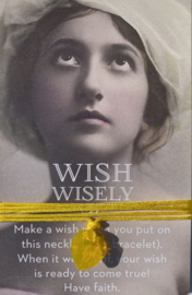 Wish wisely Sunny
