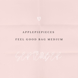 Applepiepieces feel good bag - medium