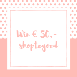 Win € 50,- shoptegoed