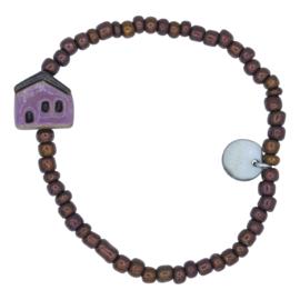 Sweet Homie armband - purple