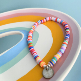Armband Color Explosion 2.0 - zilver