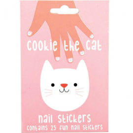 Rex London nagelstickers - Cookie the cat