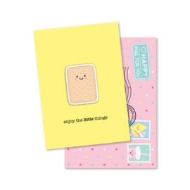 Magneetkaart - enjoy the little things