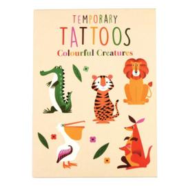 Rex London tattoos - Colourful Creatures