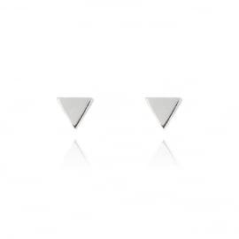 Silver luck driehoek oorstekers