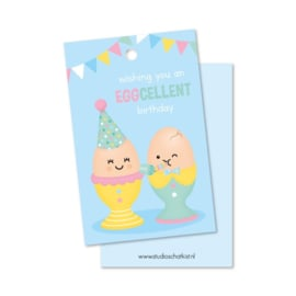 Kadolabel | wishing you an EGGcellent birthday