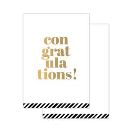 CollectivWarehouse - Congratulations – mini kaartjes