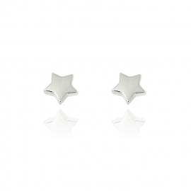 Silver luck sterretjes oorstekers