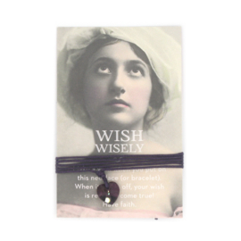 Wish wisely dark amethist