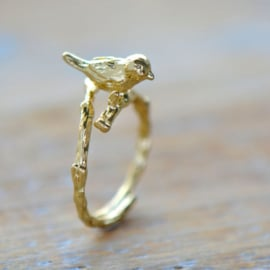 Wish birdie gold - ring