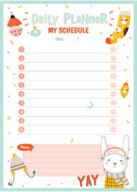 Daily Planner - My schedule