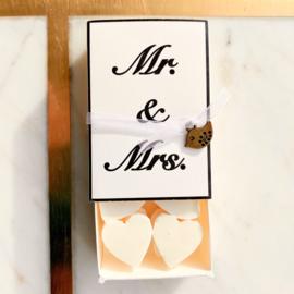 Soap in a box - Mr & Mrs
