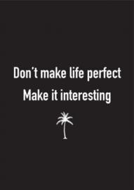 Housevitamin - Don't make life perfect