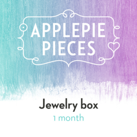 Applepiepieces Jewelry box - december