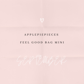 Applepiepieces feel good bag - mini