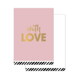 CollectivWarehouse - With Love – mini kaartjes