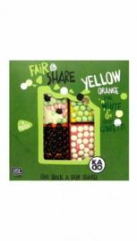 Fair & Share Yellow orange pink white & crispy confetti