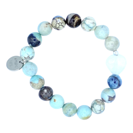 Blue ocean armcandy - heart