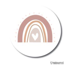 MIEKinvorm stickers - Regenboog