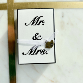 Soap in a box - Mr & Mrs