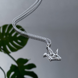 Lucky bird ketting