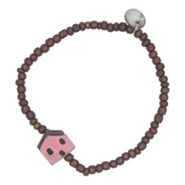 Sweet Homie armband - pink