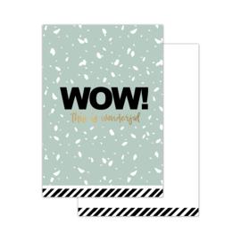 CollectivWarehouse - WOW! – mini kaartjes