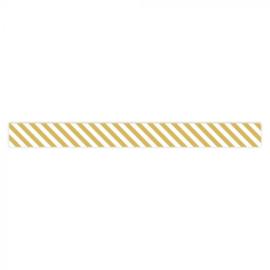 Lint - Stripes - Yellow