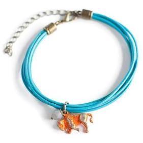 Gleeful Peacock - Color Theory armband 'Buffalo'